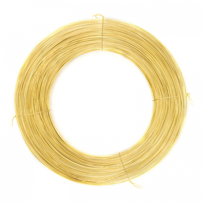 Brass wire 0,4mm - 600g
