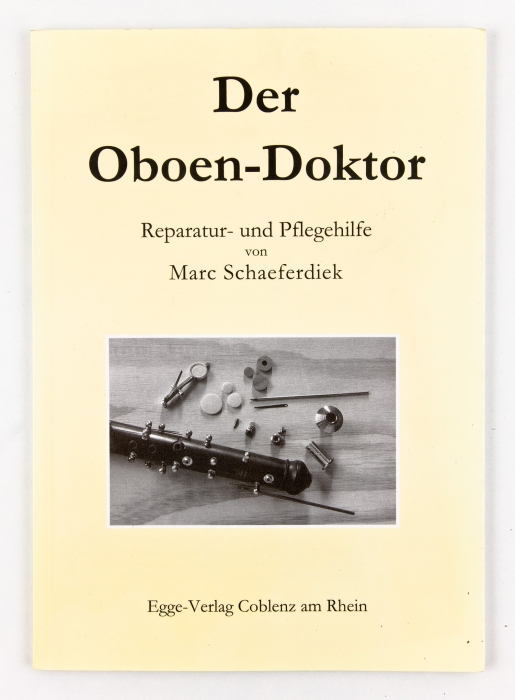 "Book ""Der Oboendoctor"", in English"