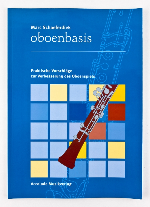 """Book """"Foundation of Oboe playing"""""""