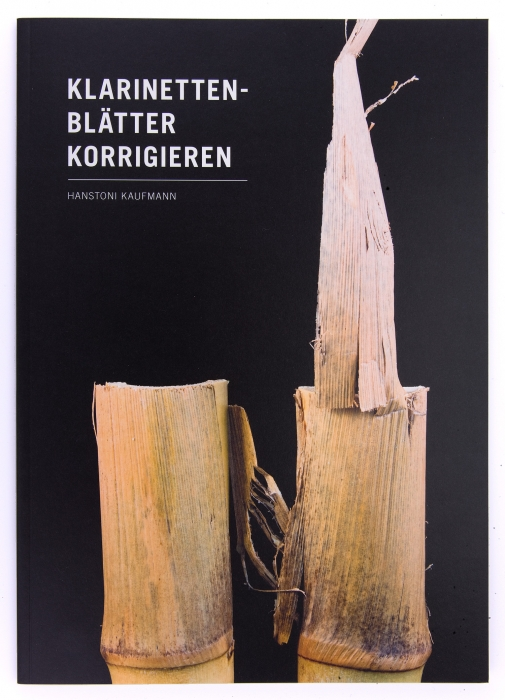 "Buch ""Klarinettenblätter korrigieren"""