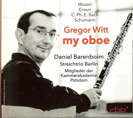 CD Gregor Witt - my oboe