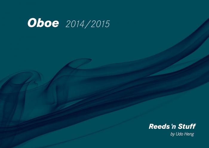 Oboe catalogue 2014/2015
