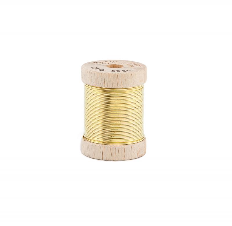 50 g Brass Wire Spool
